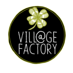 logo village factory noir