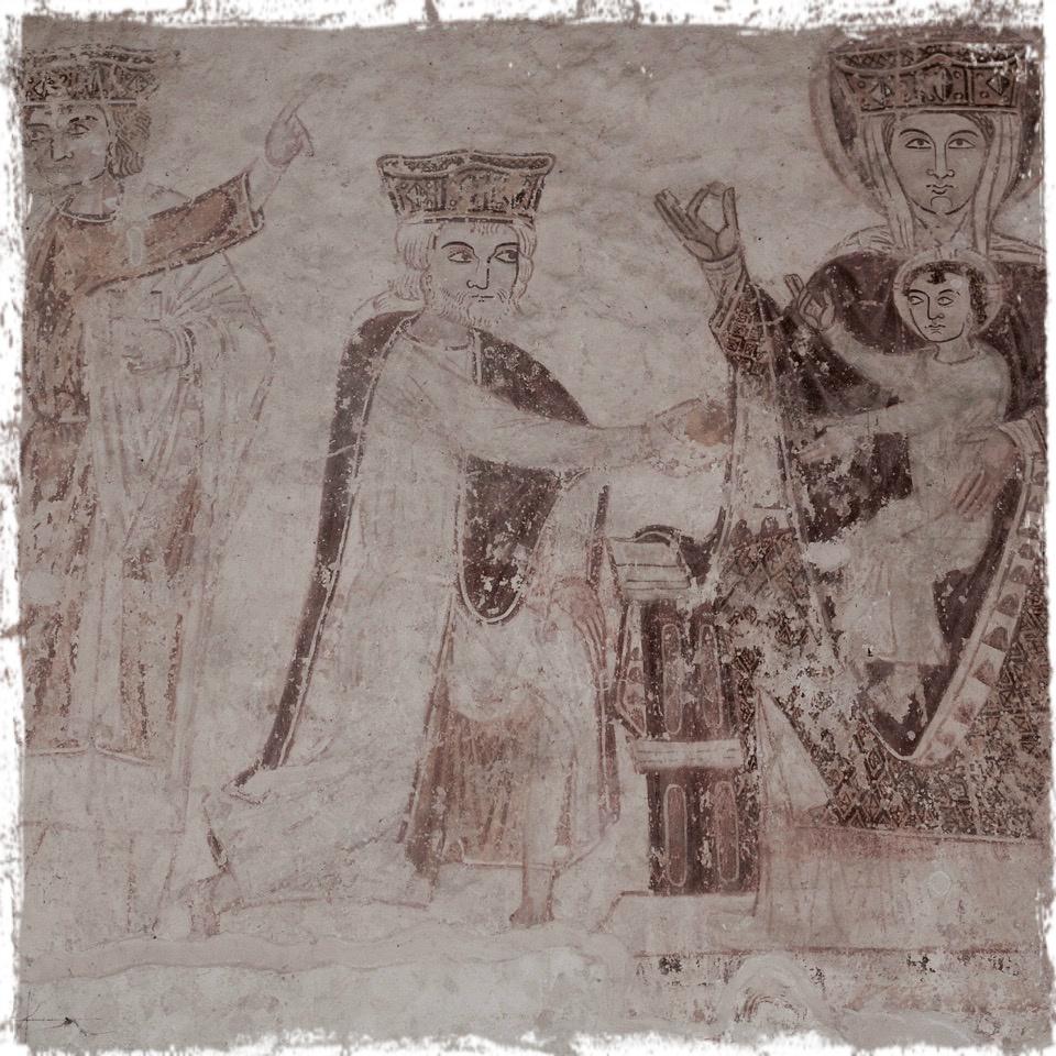 Peintures murales de l'église