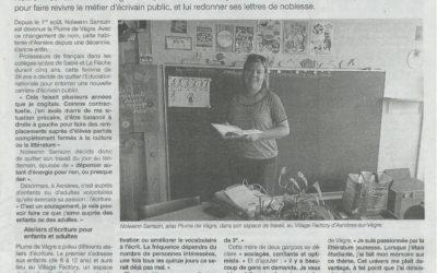 """Dans la série """"Nos coworkers sont formidables """" : Nolwenn Sarrazin, de Plume de Vègre"""