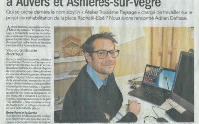 """Dans la série """"Nos coworkers sont formidables"""" : Adrien Defosse et l'Atelier """"Troisième Paysage"""" – Le Maine du 23/11/17"""