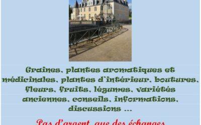 1er troc plantes au château de Dobert le 11/11