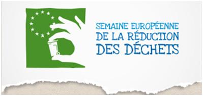 Semaine européenne de la réduction des déchets – DU 18 au 26/11